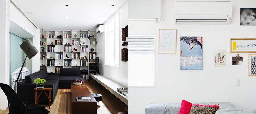 Veja qual ar condicionado é mais discreto para a decoração de sua casa